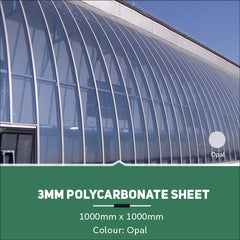 3mm Polycarbonate Sheets Opal