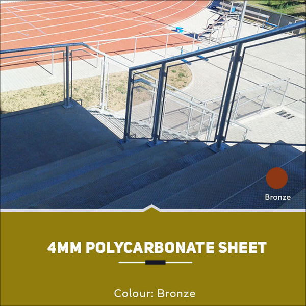 4mm Polycarbonate Sheets Bronze