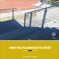 4mm Polycarbonate Sheets Clear