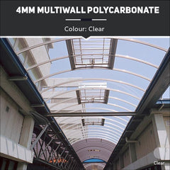 4mm Multiwall Polycarbonate Sheets