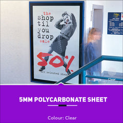 5mm Polycarbonate Sheets Clear