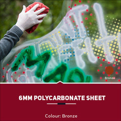 6mm Polycarbonate Sheets Bronze