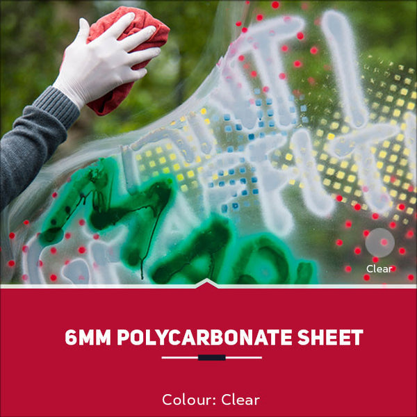 6mm Polycarbonate Sheets Clear