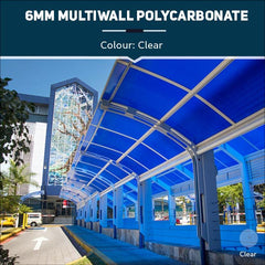 6mm Multiwall Polycarbonate Sheets