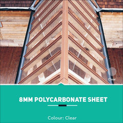 8mm Polycarbonate Sheets Clear