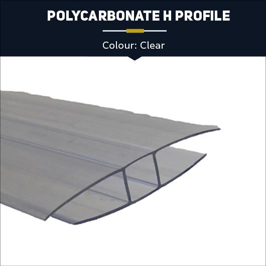 Polycarbonate H Profile