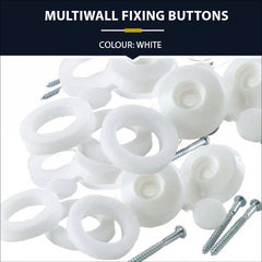 Multiwall Polycarbonate Fixing Buttons