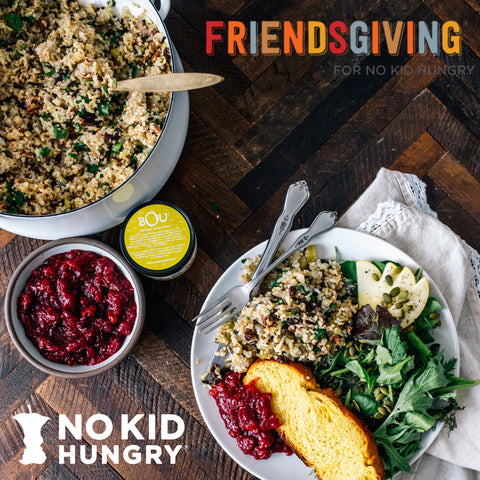 Support our Friendsgiving for No Kid Hungry