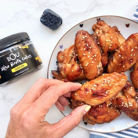 Miso Sticky Wings