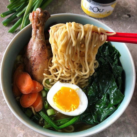 Chicken Ramen by @jeaniuseats