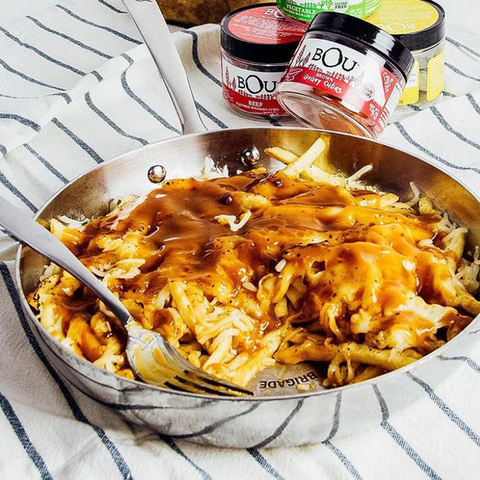 One Skillet Disco Fries