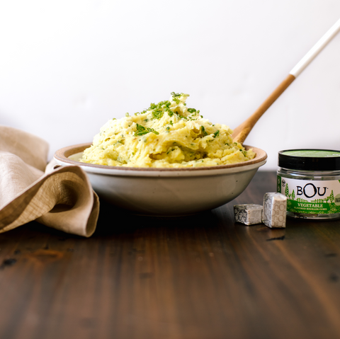 Cheddar Chive Mashed Potatoes