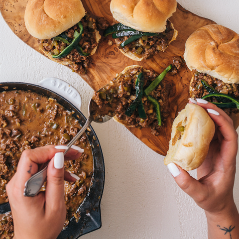 Game Day Philly Cheese Steak Sliders