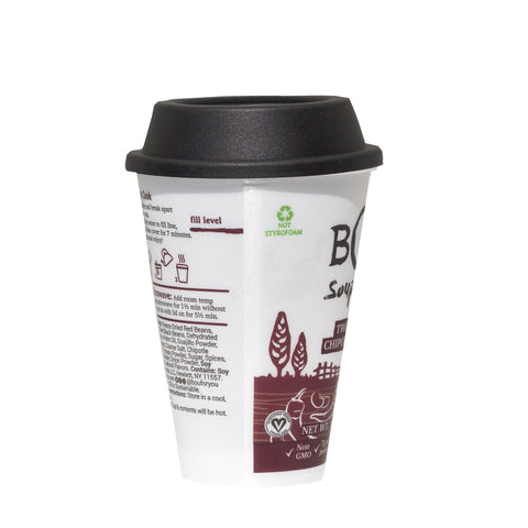BOU Two-Bean Chipotle Chili Soup Cup 6 Pack