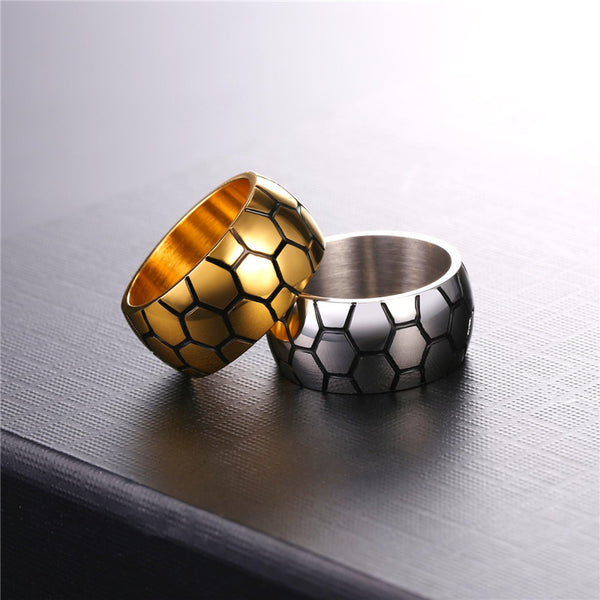Stainless Steel Soccer Ring