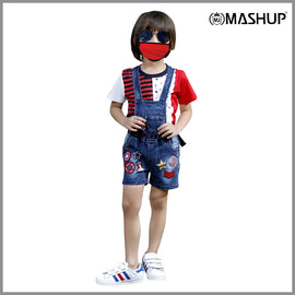 COOL ¾ DUNGAREE SET. - mashup boys