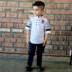 Bad Boys Designer Ethnicwear Set - mashup boys