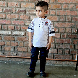 Bad Boys Designer Ethnicwear Set - KRAZYLA