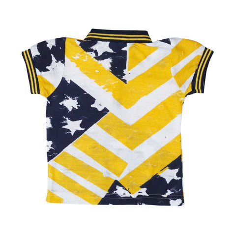 Bad Boys Stars & Stripes Yellow Combo Set - mashup boys