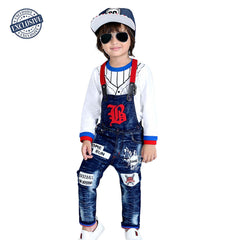 Rockstar Detachable Dungaree Set - KRAZYLA
