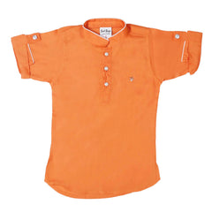 Bad Boys Orange Kurta Payjama Set - mashup boys