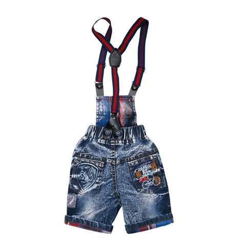Bad Boys Half Dungaree Set. - KRAZYLA