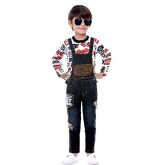 Fast & Curious Dungaree set - KRAZYLA