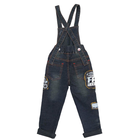 Fast & Curious Dungaree set - mashup boys