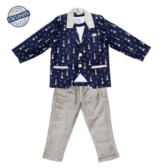 Dress me up blazer Combo set - KRAZYLA