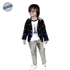 Dress me up blazer Combo set - mashup boys