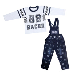 Bad Boys Blue Racer Dungaree Set - mashup boys