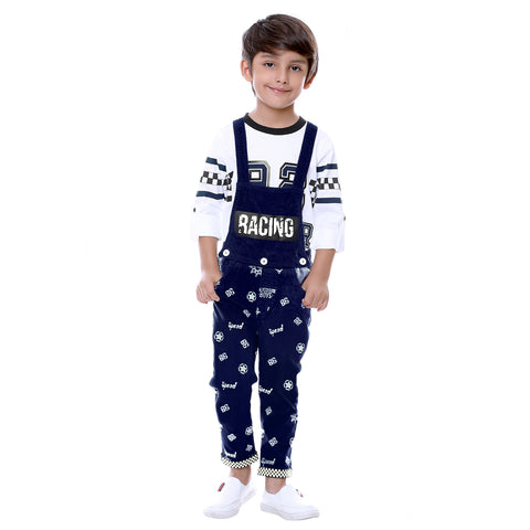 Bad Boys Blue Racer Dungaree Set - KRAZYLA