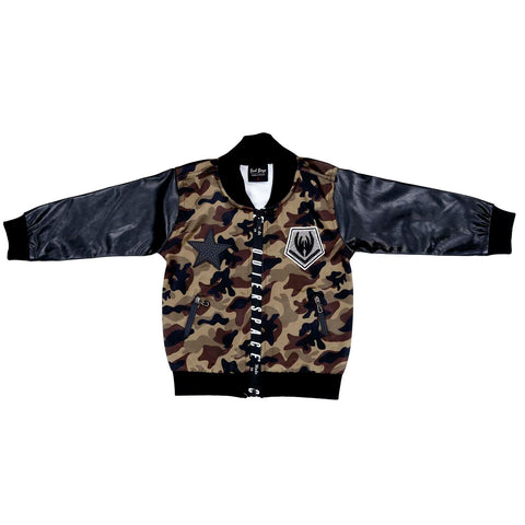 Camoflage Bomber Jacket Set - mashup boys