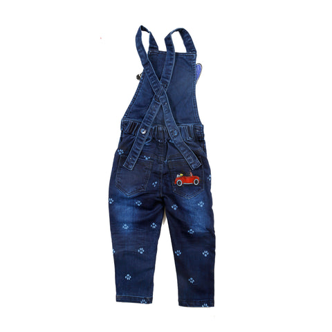 Denim Dungaree Set - KRAZYLA