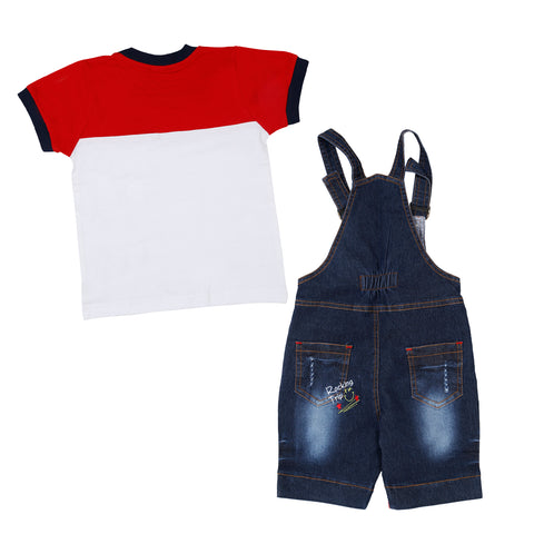 Bad Boys Cool Dungaree Set - MASHUP
