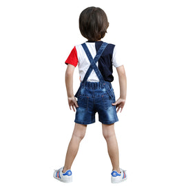 COOL ¾ DUNGAREE SET. - KRAZYLA