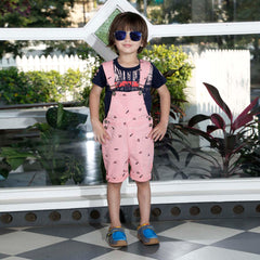 Bad Boys detachable dungaree Set. - mashup boys