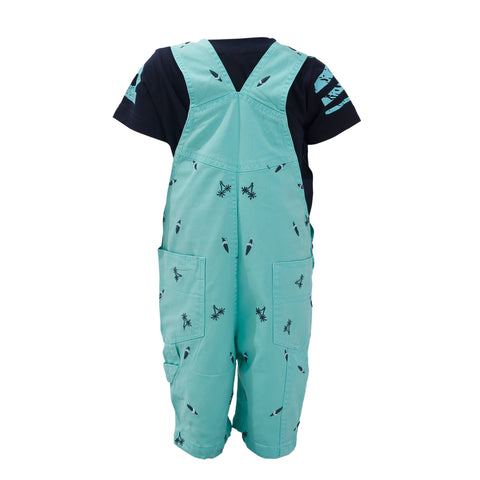 Bad Boys detachable dungaree Set. - KRAZYLA