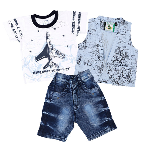 Bad Boys Half Printed jacket set. - mashup boys