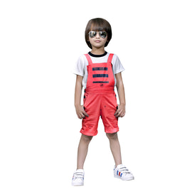 Bad Boys Mustard dungaree combo set. - mashup boys