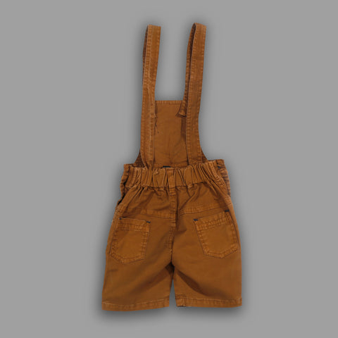 Bad Boys Party wear Outfit with T-shirt and Dungaree Shorts - MASHUP