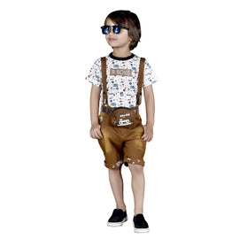 Bad Boys Combo Dungaree set. - MASHUP