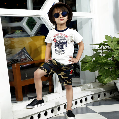 MashUp Junior cool camouflage  SET - mashup boys