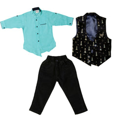 Bad Boys Stylish Waistcoat set. - mashup boys