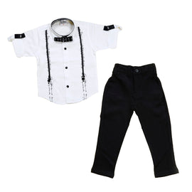 Bad Boys Comfortable yet stylish evening party outfit with a bow. - KRAZYLA