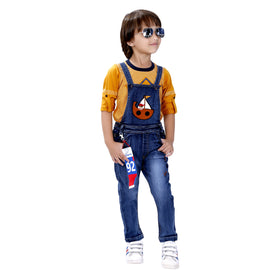 Bad Boys Party wear Outfit with Cotton T-shirt and Denim Bottoms - mashup boys