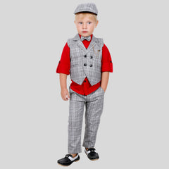 BAD BOYS FASHIONABLE OUTFIT WITH WAISTCOAT, BOTTOMS AND SUITING