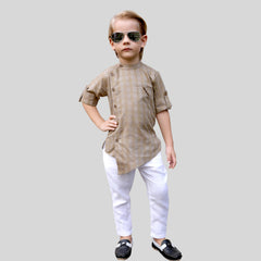 Bad Boys Fashionable Ethnic Party Wear Set