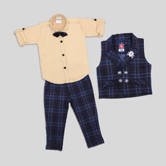 BAD BOYS ELEGANT OUTFIT WITH WAISTCOAT, BOTTOMS AND SUITING
