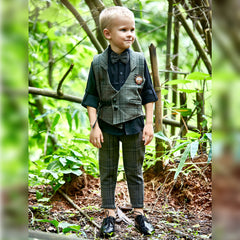BAD BOYS ELEGANT AND COMFORTABLE WAISTCOAT PARTY SET
